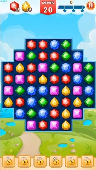 Jewels Legend - Match 3 Puzzle Android Game Image 3