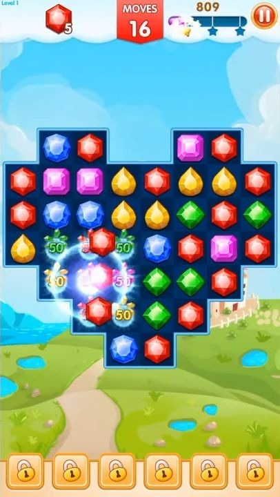 Jewels Legend - Match 3 Puzzle Android Game Image 4