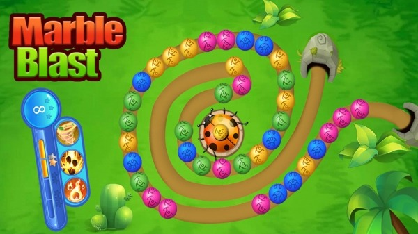 Marble Shooter:Ball Blast Games Android Game Image 1