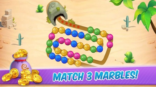 Marble Shooter:Ball Blast Games Android Game Image 2