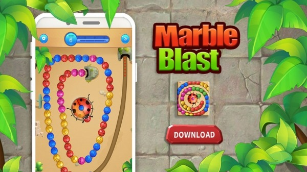 Marble Shooter:Ball Blast Games Android Game Image 3