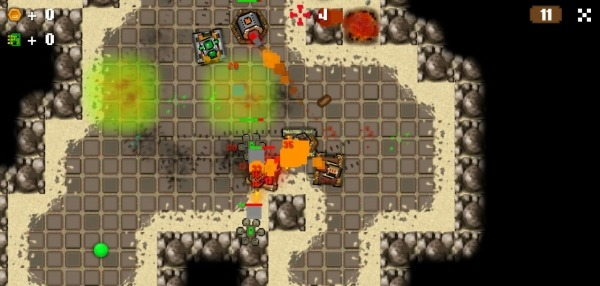 Tank Story: Levels Android Game Image 1
