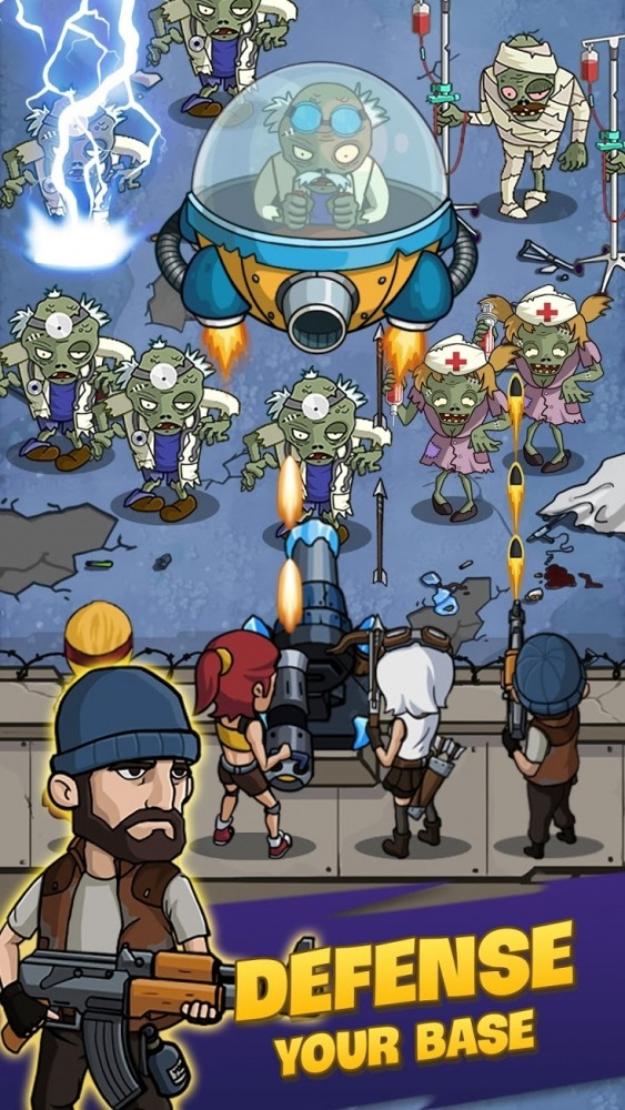 Zombie War: Idle Defense Game Android Game Image 2
