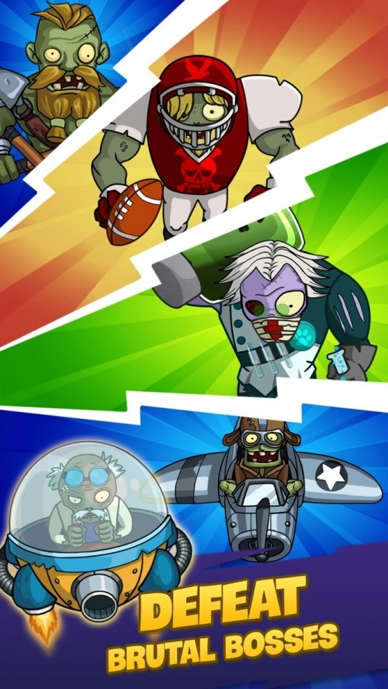 Zombie War: Idle Defense Game Android Game Image 3