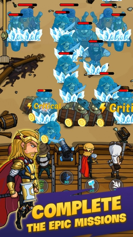 Zombie War: Idle Defense Game Android Game Image 4