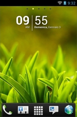 Grass Go Launcher Android Theme Image 1