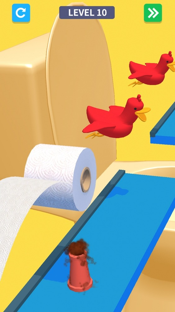 Toilet Games 3D Android Game Image 1