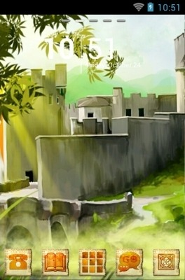 Stronghold Castle Go Launcher Android Theme Image 1