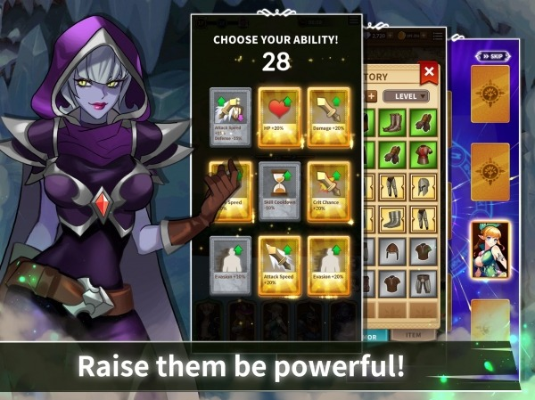Epic Heroes Adventure : Action & Idle Dungeon RPG Android Game Image 3