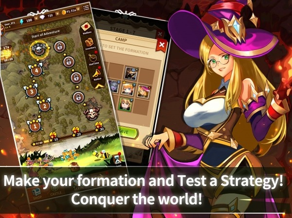 Epic Heroes Adventure : Action & Idle Dungeon RPG Android Game Image 4