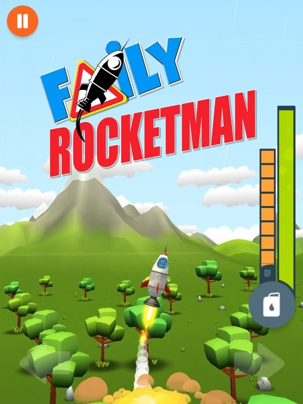 Faily Rocketman Android Game Image 1