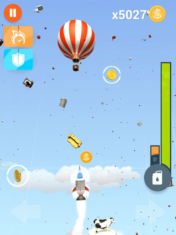 Faily Rocketman Android Game Image 2