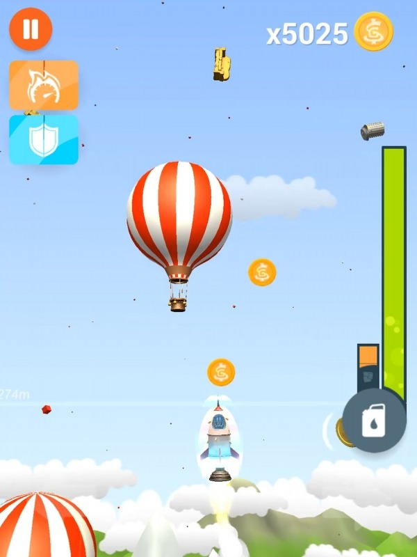 Faily Rocketman Android Game Image 3