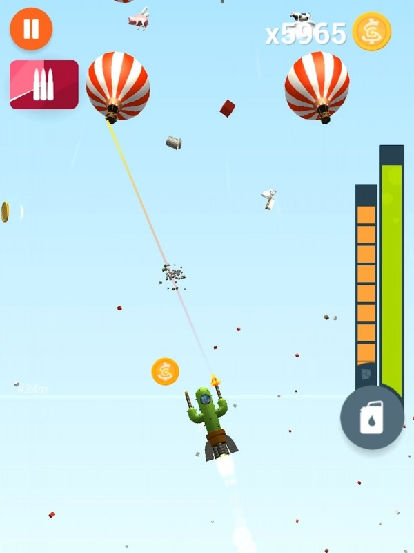 Faily Rocketman Android Game Image 4