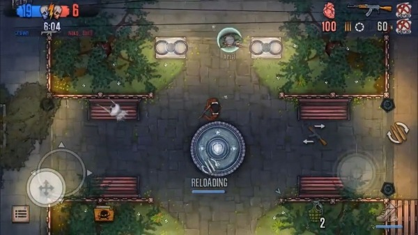 Urban Crooks - Top-Down Shooter Multiplayer Game Android Game Image 1