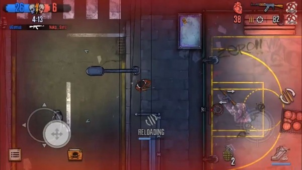 Urban Crooks - Top-Down Shooter Multiplayer Game Android Game Image 2