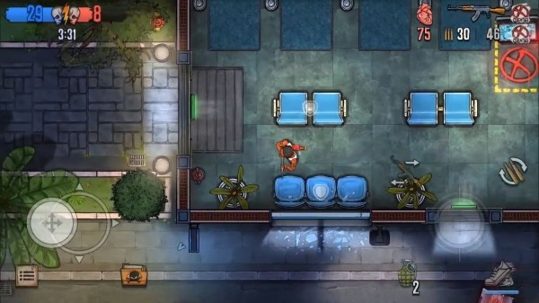 Urban Crooks - Top-Down Shooter Multiplayer Game Android Game Image 3