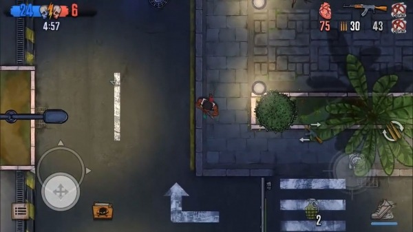 Urban Crooks - Top-Down Shooter Multiplayer Game Android Game Image 4