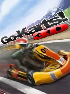 Go-Karts! 3D Java Game Image 1