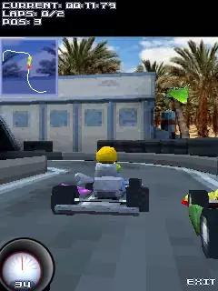 Go-Karts! 3D Java Game Image 3