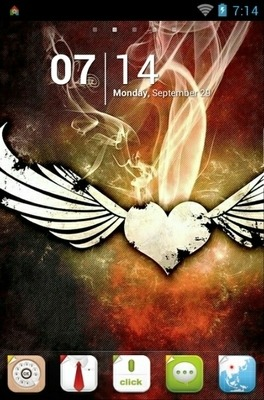 Wings Go Launcher Android Theme Image 1