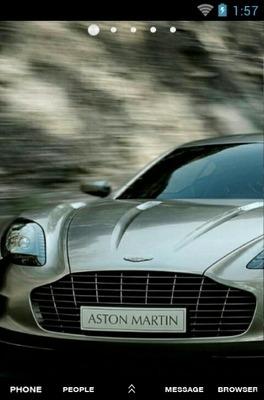 Aston Martin Go Launcher Android Theme Image 1