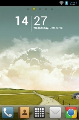 Autumn Go Launcher Android Theme Image 1