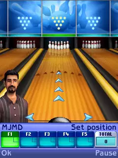 The Sims: Bowling Java Game Image 2