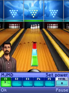 The Sims: Bowling Java Game Image 3