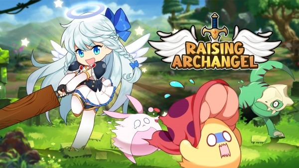 Raising Archangel: AFK Angel Adventure Android Game Image 1