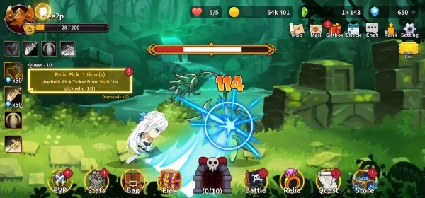 Raising Archangel: AFK Angel Adventure Android Game Image 2
