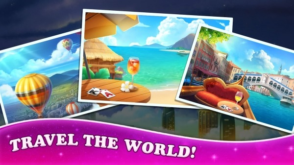 Solitaire Tripeaks: Travel The World Android Game Image 2