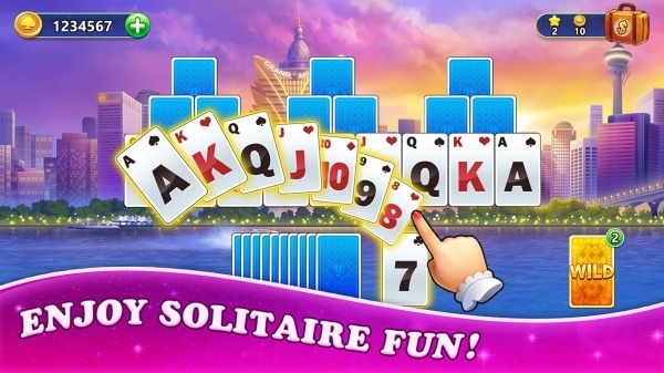 Solitaire Tripeaks: Travel The World Android Game Image 4