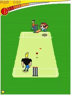 CN Toon Cricket Java Game Image 2