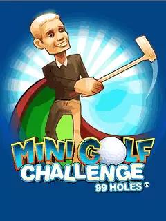 Mini Golf 99 Challenge Java Game Image 1