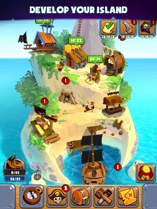 Pirate's Destiny Android Game Image 2