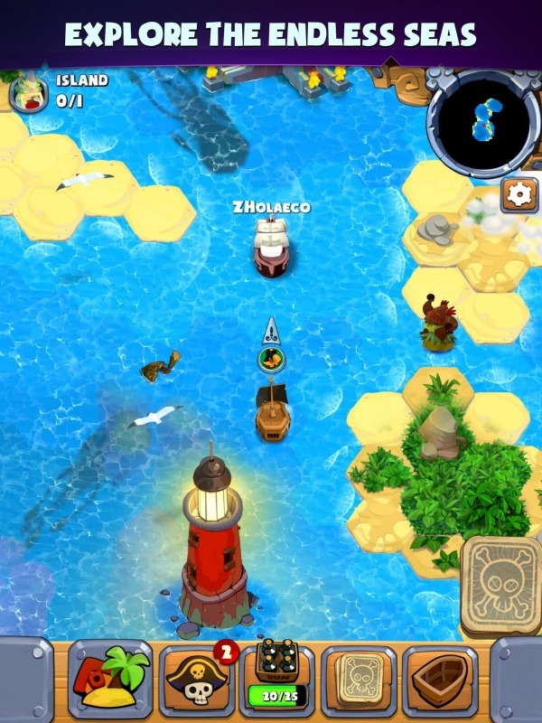Pirate's Destiny Android Game Image 3