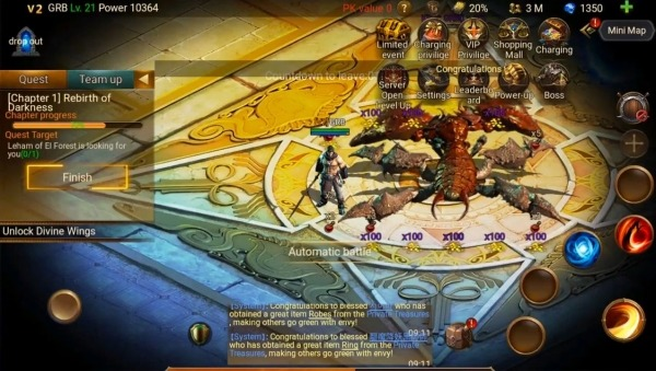 SIVA : MMO RPG Android Game Image 1
