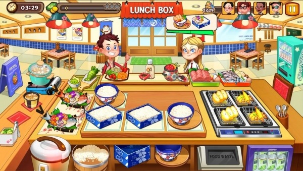 Cooking Adventure Android Game Image 1