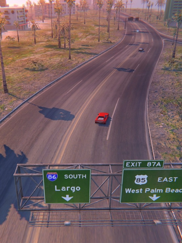 Florida Interstate '86 Android Game Image 2