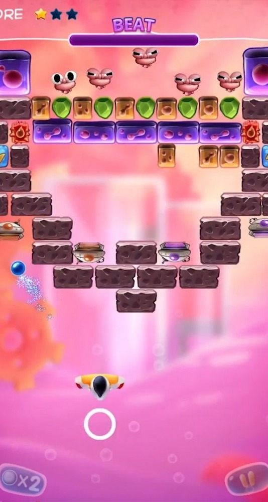 Bio Bricks Breaker Android Game Image 1