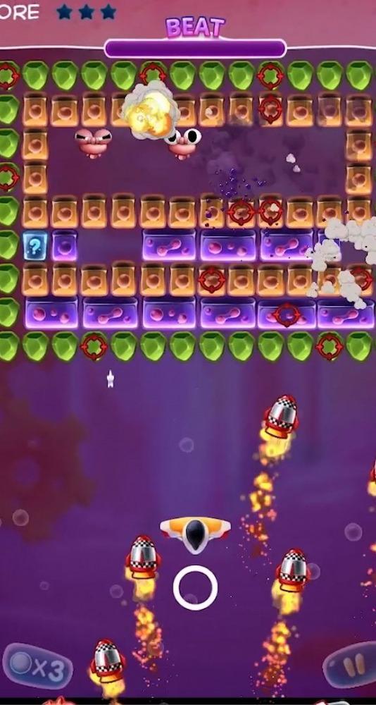 Bio Bricks Breaker Android Game Image 2