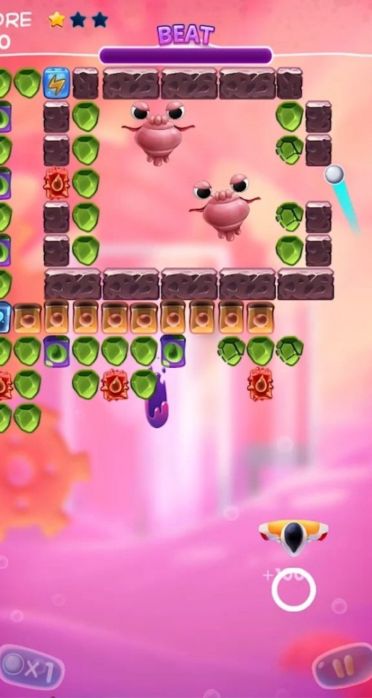 Bio Bricks Breaker Android Game Image 4