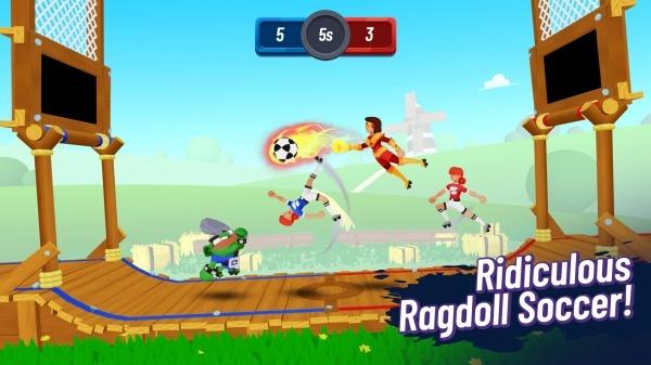 Ballmasters: 2v2 Ragdoll Soccer Android Game Image 3