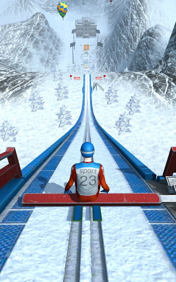 Ski Ramp Jumping Android Game Image 1