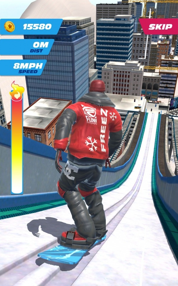 Ski Ramp Jumping Android Game Image 4