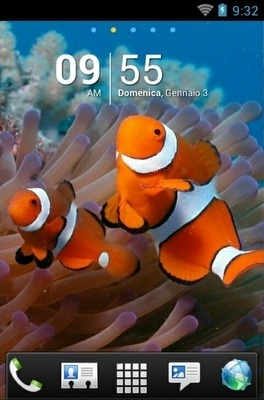Underwater Go Launcher Android Theme Image 1