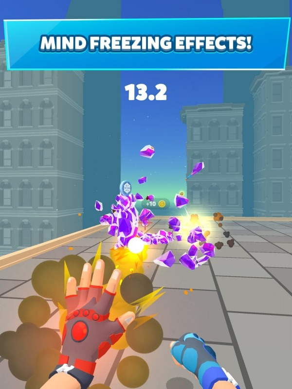 Ice Man 3D Android Game Image 2