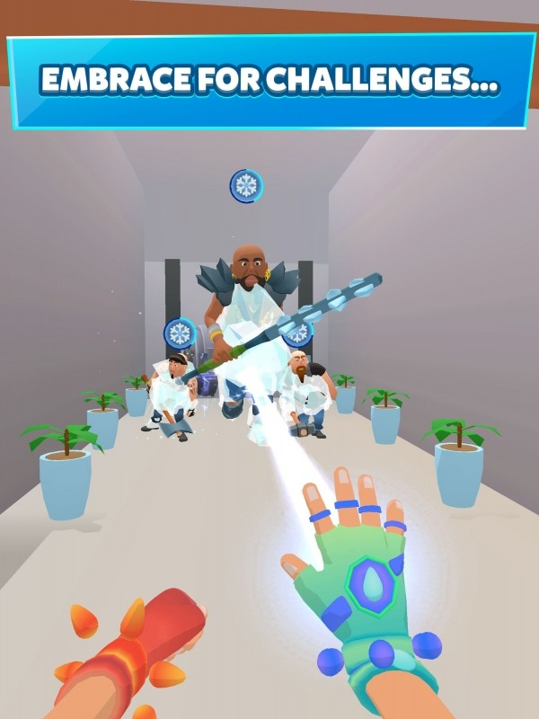 Ice Man 3D Android Game Image 3