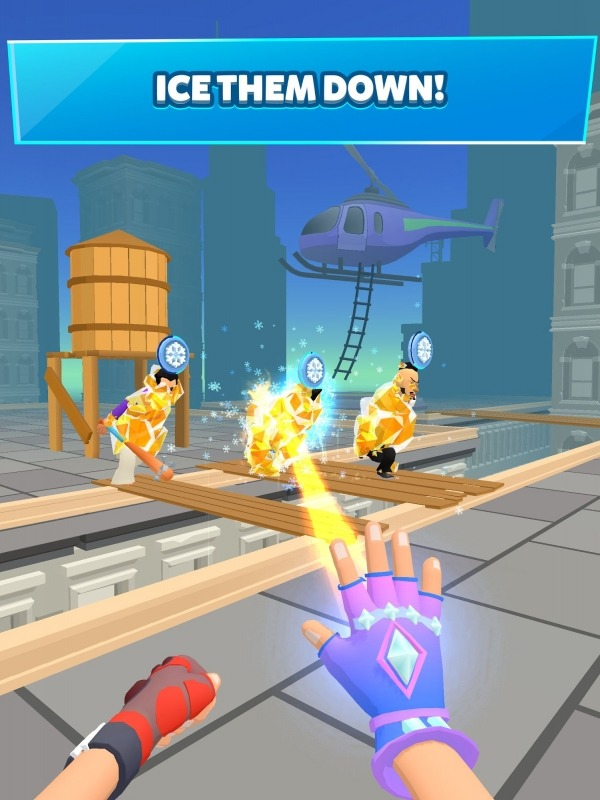 Ice Man 3D Android Game Image 4